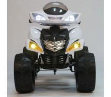 фото детского электроквадроцикла Barty Quad Pro М007МР White спереди