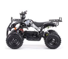 Боковое фото детского электроквадроцикла MOTAX Mini Grizlik Х-16 800W Black