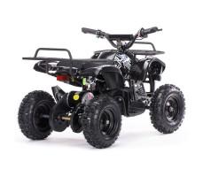 Заднее фото детского электроквадроцикла MOTAX Mini Grizlik Х-16 800W Black