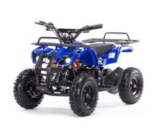 Детский электроквадроцикл MOTAX Mini Grizlik Х-16 800W Blue