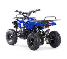 Заднее фото детского электроквадроцикла MOTAX Mini Grizlik Х-16 800W Blue