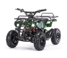 Детский электроквадроцикл MOTAX Mini Grizlik Х-16 800W Green