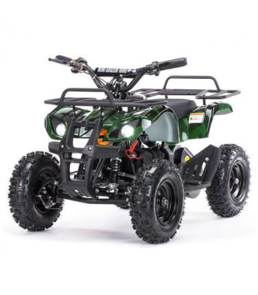 Детский электроквадроцикл MOTAX Mini Grizlik Х-16 800W Green | Купить, цена, отзывы