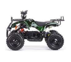 Боковое фото детского электроквадроцикла MOTAX Mini Grizlik Х-16 800W Green