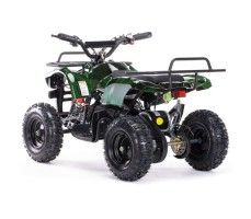 Заднее фото детского электроквадроцикла MOTAX Mini Grizlik Х-16 800W Green