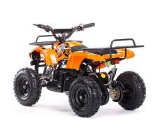 Заднее фото детского электроквадроцикла MOTAX Mini Grizlik Х-16 800W Orange
