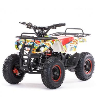 Электроквадроцикл MOTAX Mini Grizlik Х-16 Big Wheel 1000W Bomber | Купить, цена, отзывы