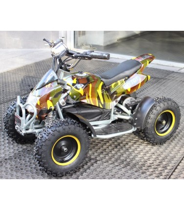 Электроквадроцикл MYTOY 500A Yellow | Купить, цена, отзывы