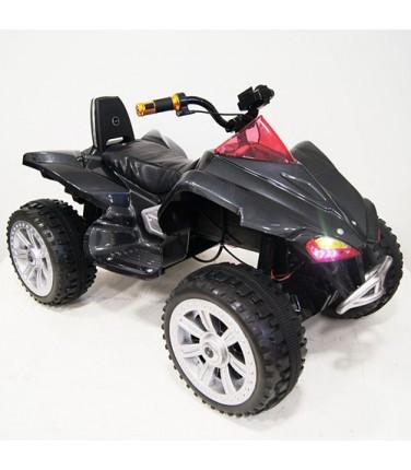 Детский электроквадроцикл RiverToys А001МР Black | Купить, цена, отзывы