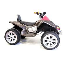 фото детского электроквадроцикла RiverToys А001МР Carbon сбоку