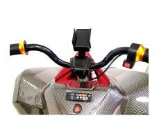 фото руля детского электроквадроцикла RiverToys А001МР Carbon