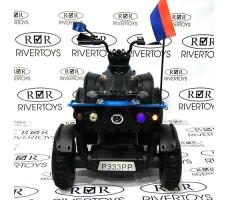 Фото задний вид электроквадроцикл P333PP