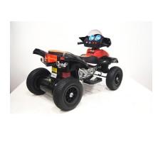 Заднее фото детского электроквадроцикла RiverToys E005KX-А RED