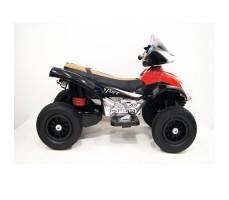 Боковое фото детского электроквадроцикла RiverToys E005KX-А RED