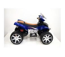 Боковое фото детского электроквадроцикла RiverToys E005KX BLUE