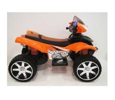 Боковое фото детского электроквадроцикла RiverToys E005KX ORANGE