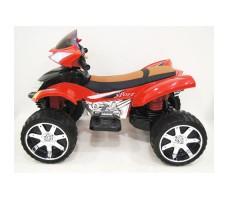 Боковое фото детского электроквадроцикла RiverToys E005KX RED