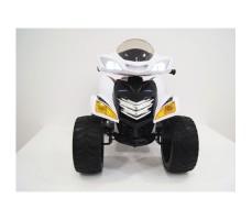 Переднее фото детского электроквадроцикла RiverToys E005KX WHITE