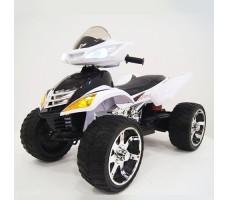 Детский электроквадроцикл RiverToys E005KX WHITE