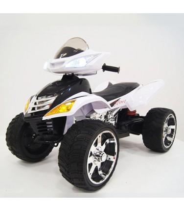 Детский электроквадроцикл RiverToys E005KX WHITE | Купить, цена, отзывы