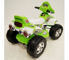 Заднее фото детского электроквадроцикла JY20A8 Green
