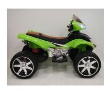 Боковое фото электроквадроцикла RiverToys Е005КХ-A Green