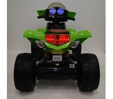 Заднее фото электроквадроцикла RiverToys Е005КХ-A Green