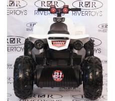 Заднее фото детского электроквадроцикла T777TT Black