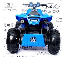 Заднее фото детского электроквадроцикла T777TT Blue