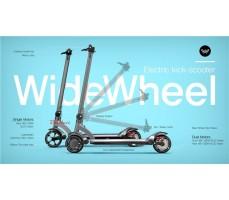фото Электросамокат Wide Wheel 422Wh