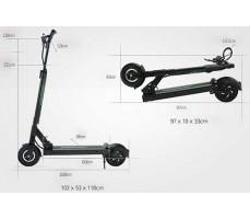 Габариты электросамоката Speedway Mini4 Pro Black