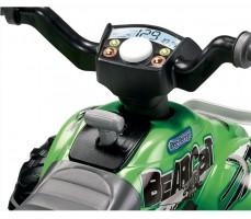 Фото элементов управления квадроцикла Peg-Perego Corral Bearcat Green