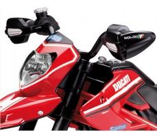 Фото переднего фонаря электромотоцикла Peg-Perego Ducati Hypermotard Red