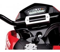 Фото приборной панели электромотоцикла Peg-Perego Ducati Hypermotard Red