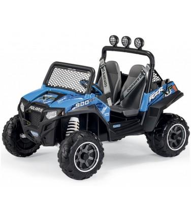 Электромобиль Peg-Perego Polaris Ranger RZR 900 голубой | Купить, цена, отзывы