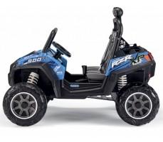 Фото электромобиля Peg-Perego Polaris Ranger RZR 900 Blue вид сбоку