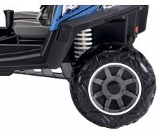 Фото заднего колеса электромобиля Peg-Perego Polaris Ranger RZR 900 Blue