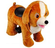 Зоомобиль Joy Automatic Собачка Тобби с монетоприемником