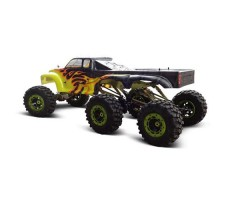 фото RC Машины краулера HSP 4WD Yellow Flame сзади
