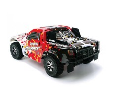 фото RC шорт-корс трака Arrma Fury 2WD Red сзади