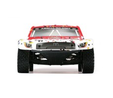 фото RC шорт-корс трака Arrma Fury 2WD Red спереди