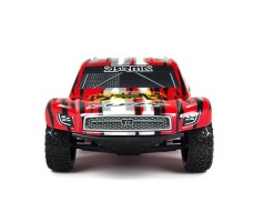 фото RC шорт-корс трака ARRMA Fury BLS 2WD RTR Red спереди