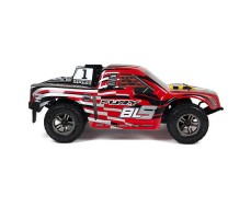 фото RC шорт-корс трака ARRMA Fury BLS 2WD RTR Red сбоку