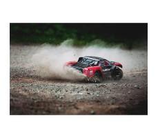 фото RC шорт-корс трака Arrma Fury BLX 2WD RTR в движении