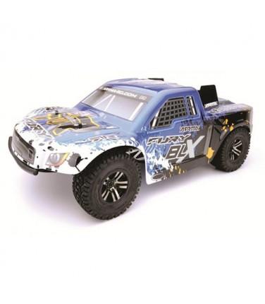 RC шорт-корс трак Arrma Fury BLX 2WD Blue   Купить, цена, отзывы