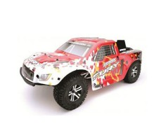 RC шорт-корс трак Arrma Fury BLX 2WD Red