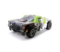 фото RC шорт-корс трака Arrma Mojave BLX 2WD Green сзади