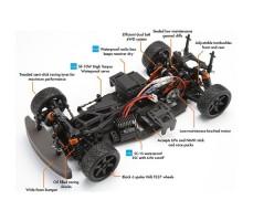 фото системы RC машины HPI Sprint 2 Sport Nissan GT-R (R35) 4WD RTR