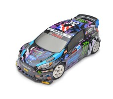 фото RC машины HPI WR8 Flux Ken Block Intergalactic Ford Fiesta ST RX43 4WD RTR