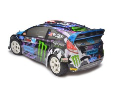 фото RC машины HPI WR8 Flux Ken Block Intergalactic Ford Fiesta ST RX43 4WD RTR сзади
